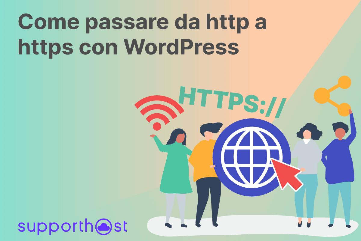 Come passare da http a https con WordPress