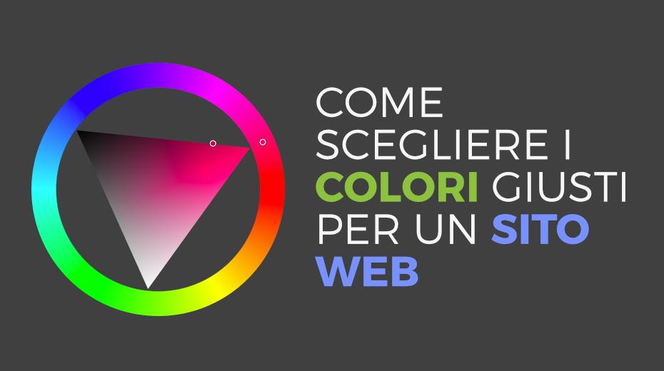 Scegliere colori per un sito web
